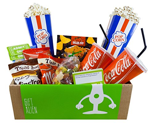 a unique cinema experience gift box for movie lovers