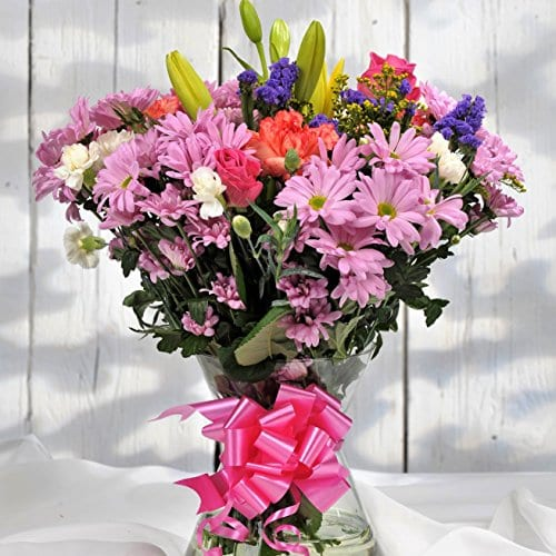 Homeland Florists Value Mixed Fresh Flowers Delivered Stunning Floral Bouquet Next Day UK Delivery Beautiful Birthday Present