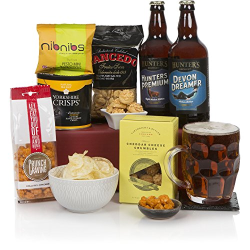 Craft Beer Food Hamper Real Ale Hampers And Gift Baskets For Men Birthday Ideas